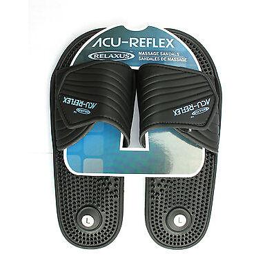 Acu-Reflex Massage Sandals. 1 Pair. Reflexology Slippers. Acu-Shiatsu Sandals