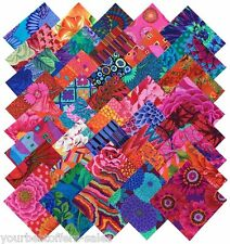 Cotton Fabric Quilting Scraps Kaffe Fassett Fabric Squares Pre Cut Quilt Kits