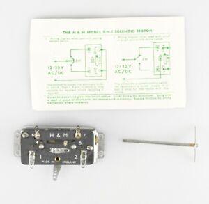 HAMMANT-amp-MORGAN-Spur-H0-Weichenantrieb-S-M-3-elektrisch-OVP-top