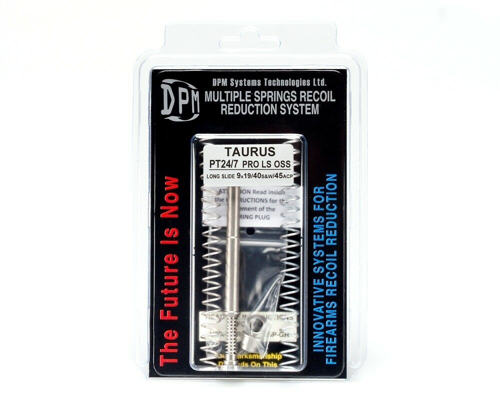 DPM Recoil Spring ROTuction System for Taurus PT24/7 PRO PRO PRO LS OSS LONG SLIDE de3627