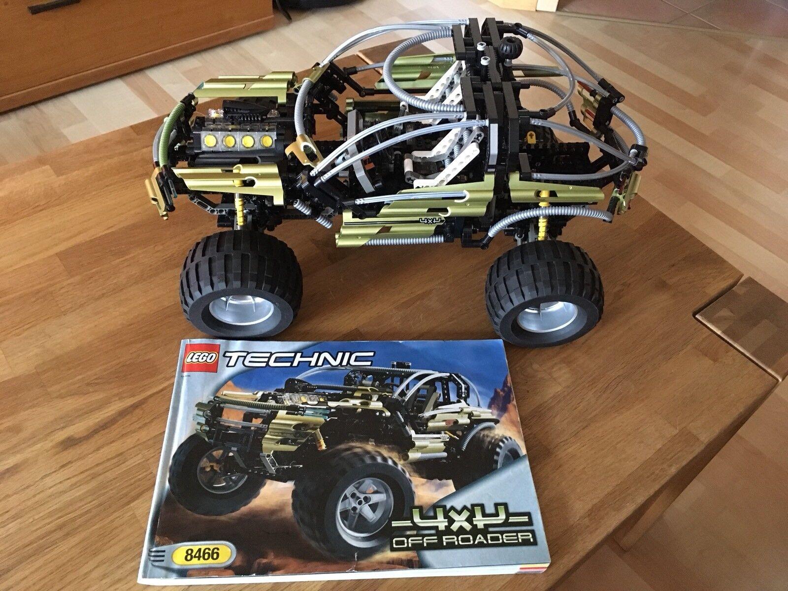 Lego Technic Tecnología 8466 4x4 Offroader