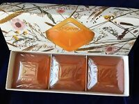 Boxed Vtg Noevir Herbal Soap Set Made In Japan 3 Cakes 3.5 Oz Each