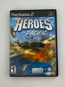 Heroes of the Pacific - Playstation 2 PS2 Game - Complete & Tested