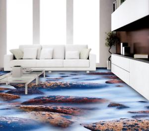 3D Muster Fluss 502 Fototapeten Wandbild Fototapete Tapete Familie DE Lemon