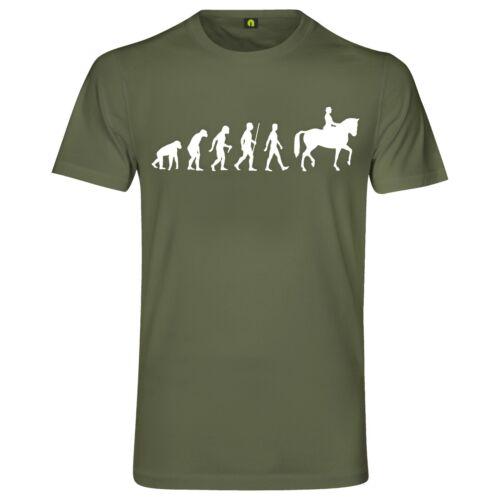 EVOLUTION Cheval T-ShirtPoneyjumentChevalRossHorseCourclapier