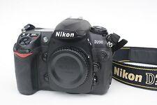 Nikon D D200 10.2MP Digital SLR Camera - Black (Body Only) - AS IS