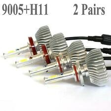 120W 12000LM H11 9005 LED Headlight Kit Low Beam Light Bulb 6000K White 2 Pairs