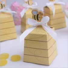 25 Count Momma and Baby Bee Baby Shower Favor Candy Box Party Box