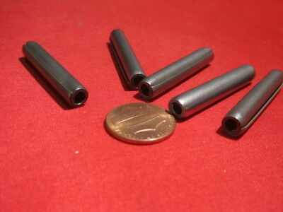 """420 Stainless Steel Coiled Spring Pin 10 pcs 1//4/"""" Dia x 2 1//2/"""" Length"""