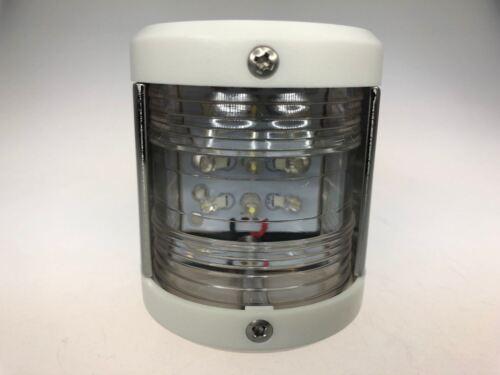 Marine Boat LED Navigation Stern Light White Surface Mount 12V White ABS 42.5LM