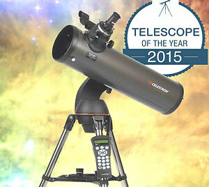 CELESTRON-NexStar-130SLT-FULLY-COMPUTERIZED-Telescope-FREE-Star-amp-Planet-Locator