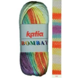 BOMBAY-KATIA-100-Baumwolle-BATIK-FARBVERLAUF-MULTICOLOR-WOLLE-Catania-Art-2012
