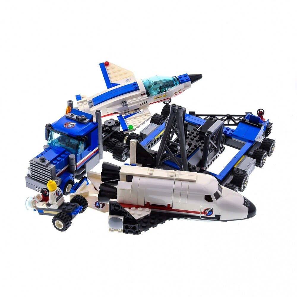 1 x Lego System Modelll für Set 60079 Town Stadt Space Port Training Jet Transport