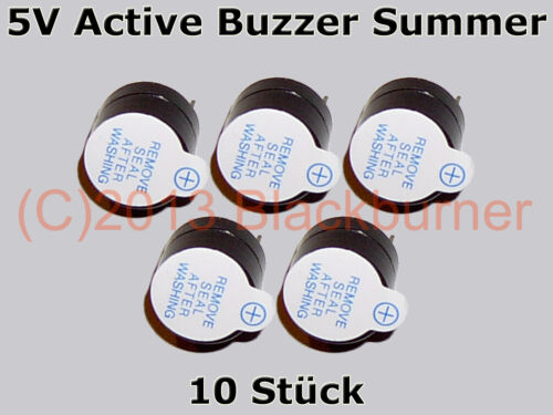 1 5v active timbre Summer magnetic Long continuous beep Tone B * nuevo * 2 5 unidades