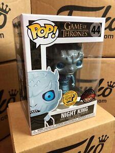 Funko POP! Game of Thrones NIGHT KING Metallic Exclusive & Protector
