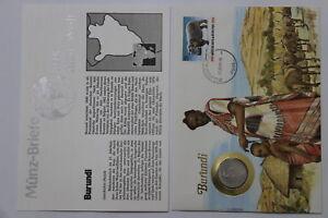 BURUNDI-5-FRANCS-1980-COIN-COVER-A98-67