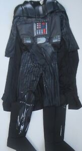 Star-Wars-Darth-Vader-Adult-Costume-With-Mask-With-Cape-Size-S-NWT