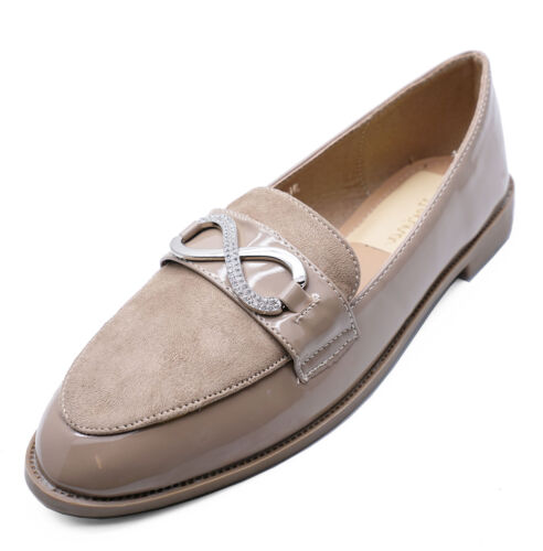on Mink Flat Loafers Shoes Comfy Smart Slip 3 Work Uk Casual 8 Moccasin Ladies gqAx1n4wA