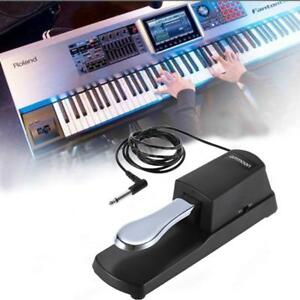 electronic keyboard sustain foot pedal for casio yamaha roland digital piano uk 798881731129 ebay. Black Bedroom Furniture Sets. Home Design Ideas