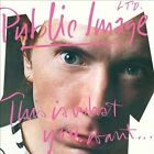 This Is What You Want...This Is What You Get by Public Image Ltd. (CD, Jan-2012, Source Interlink)