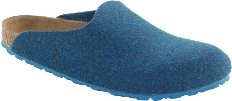 Birkenstock Amsterdam petrol Wollfilz Günstige und gute Schuhe