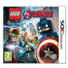 Lego Marvel Los Vengadores para Reino Unido/UE 3DS (nuevo Y Sellado)
