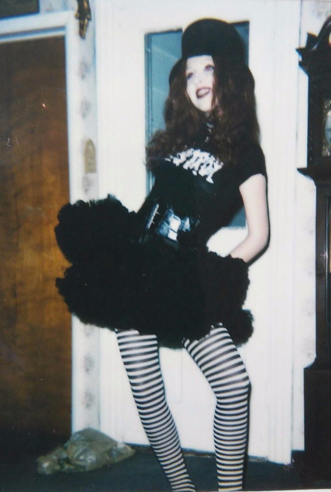 Vintage Gothic  Alice In Wonderland  skirt