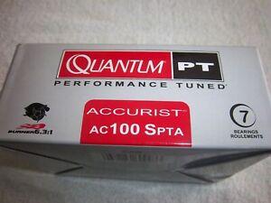 QUANTUM ACCURIST AC101SPTA 6.3:1 GEAR RATIO LEFT HAND BAITCAST REEL
