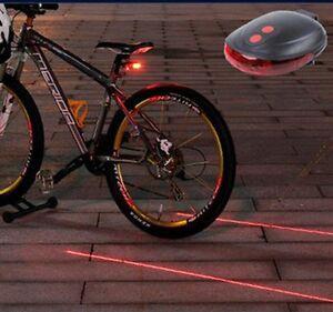 Rear-Tail-Flashing-Safety-Warning-Lamp-Night-5-LED-amp-2-Laser-Bike-Bicycle-Light