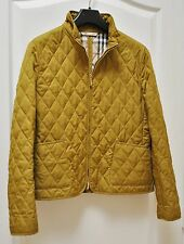 BURBERRY Womans Zippered Jacket with Nova Check Lining Size L $695
