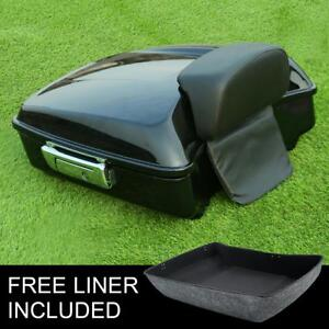 Chopped-Pack-Trunk-Backrest-Fit-For-Harley-Tour-Pak-Road-Electra-Glide-14-20-18