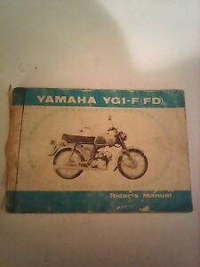 Yamaha-YG1-F-FD-owners-manual-genuine