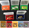 New Huge Pokemon Games Cards for Pokemon GBC/GBA GameBoy Game Boy Color Version