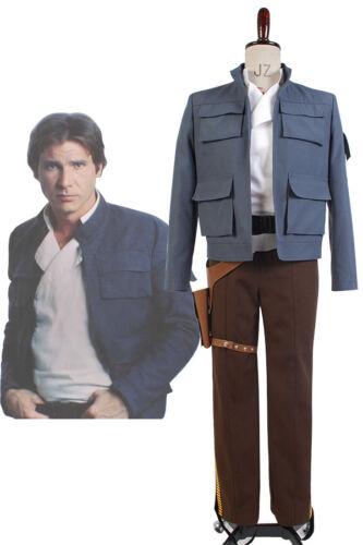 Star Wars Empire Strikes Back Han Solo tenue costume Cosplay costume veste pantalon