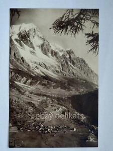 COURMAYEUR-villaggio-Entreves-Aosta-vecchia-cartolina