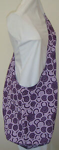 Long-Hippy-Style-Hobo-Bag-with-Small-swirls-Brand-New