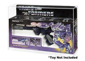 Transformers - Shockwave Action Figure Display Case