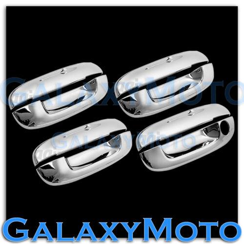 2002-2009 GMC Envoy Chrome 4 Door Handle W//O Passenger Keyhole Cover