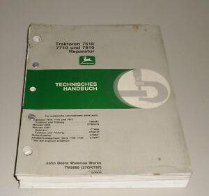 Werkstatthandbuch-John-Deere-Traktor-7610-7710-7810-Reparatur-Stand-11-1997