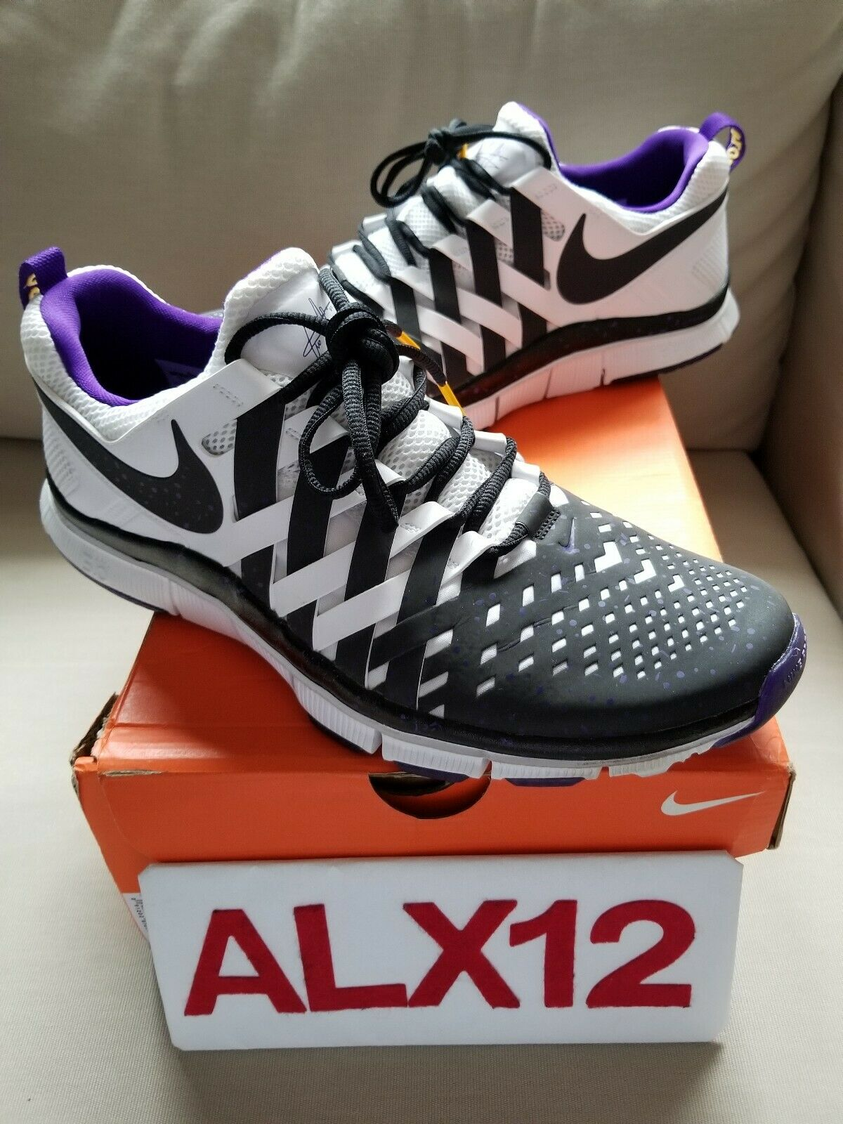 new styles 4dffc 6e164 Nike Free Trainer 5.0 Cris Carter. Worn Lightly. Size 12. VNDS