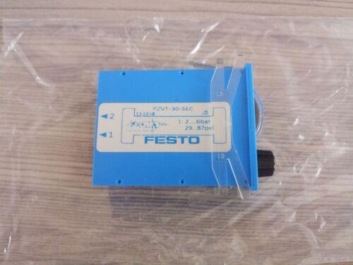 1PC FESTO Timer PZVT-30-SEC 150238