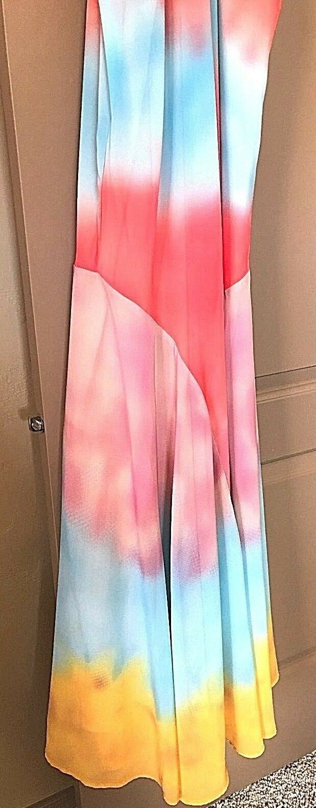 NWT SUNDANCE CATALOG  MAUNA LOA HALTER TOP DRESS- SIZE 12 LEFT   ORIG..   188.00