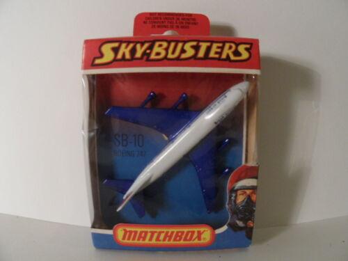 MATCHBOX SKY-BUSTERS diversi modelli da 1977 made in Inghilterra