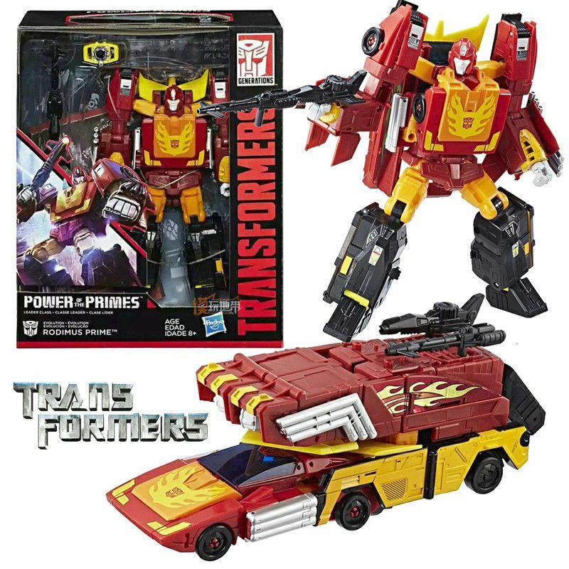 Transformers Transformers Transformers Rodimus Hot Rod Power Of The Primes Evolution Leader Action Figures eefc5e
