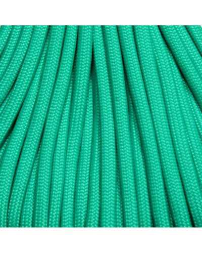 550 Paracord Teal Light 25 ft US made USA SELLER same day shipping