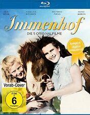 IMMENHOF-DIE 5 ORIGINALFILME (KOMPLETTBOX REMAST  2 BLU-RAY NEU HEIDI BRÜHL