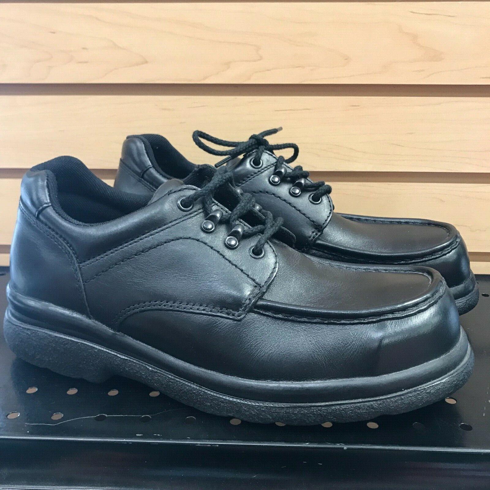 9.5 D rojo Wing zapatos negro Trabajo Oxford 6657 Hecho en EE. UU. Puntera De Acero Seguridad Moc SD