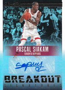 Pascal Siakam 2016-17 Studio Breakout Signatures #15 /299 RC All-Star Raptors