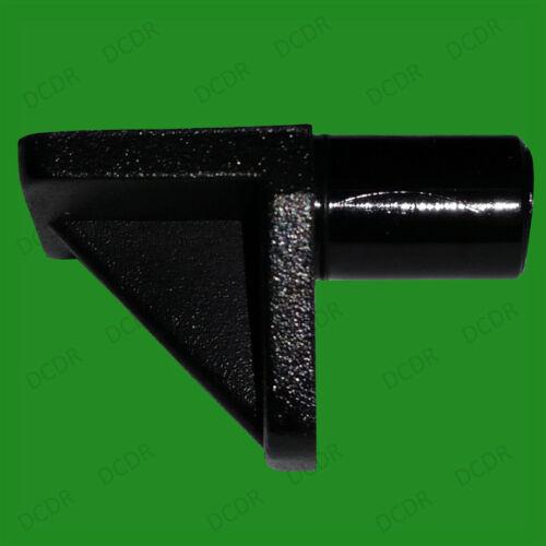 armoires de cuisine 12 x 5mm Ou 8mm push en plastique noir étagère support chevilles crampons