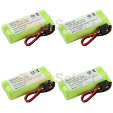 4 Home Phone Battery Pack 350mAh NiCd for Uniden DECT 6.0 1.9GHZ DECT2080 2080-3